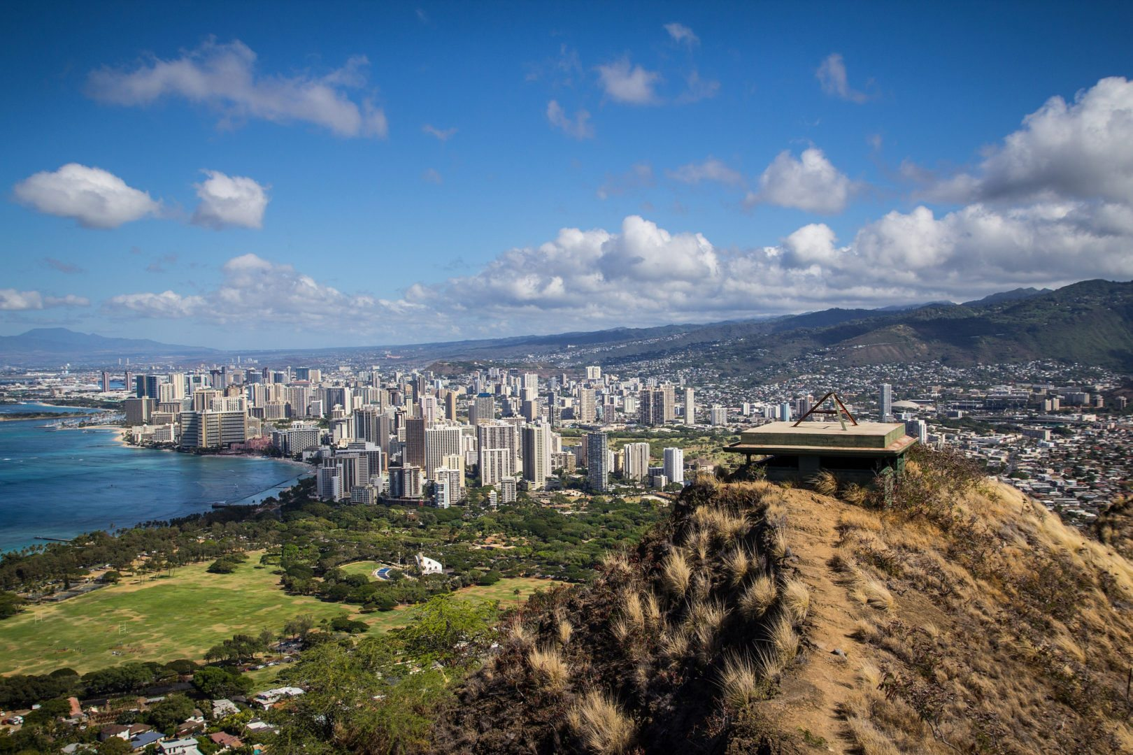 Diamond Head crater lookout, Oahu