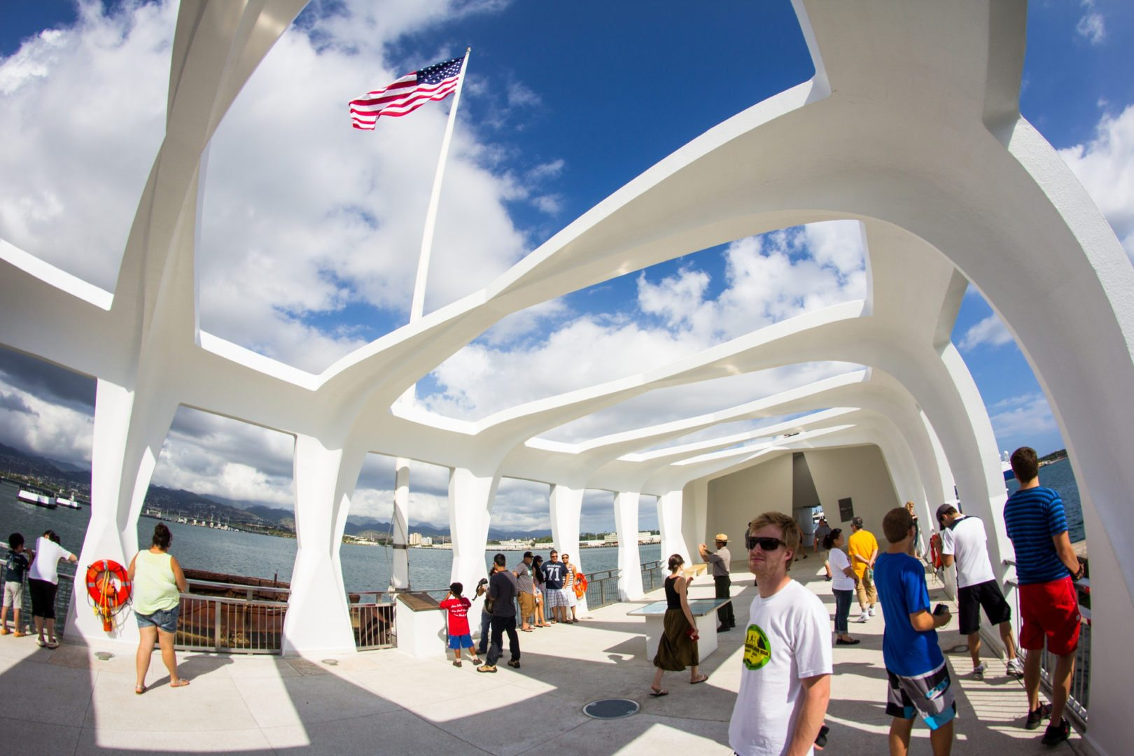 Pearl Harbor memorial, Hawaii