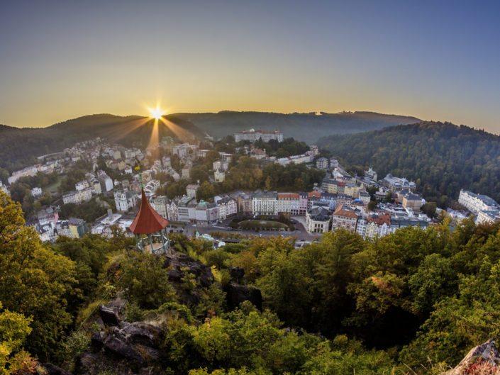 Karlovy Vary sunrise