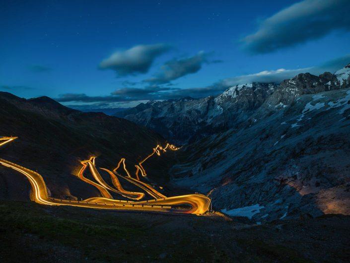 Scenic Stelvio Pass