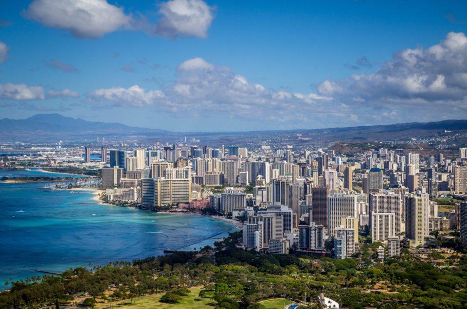 Přílet na Havaj a přesuny mezi ostrovy