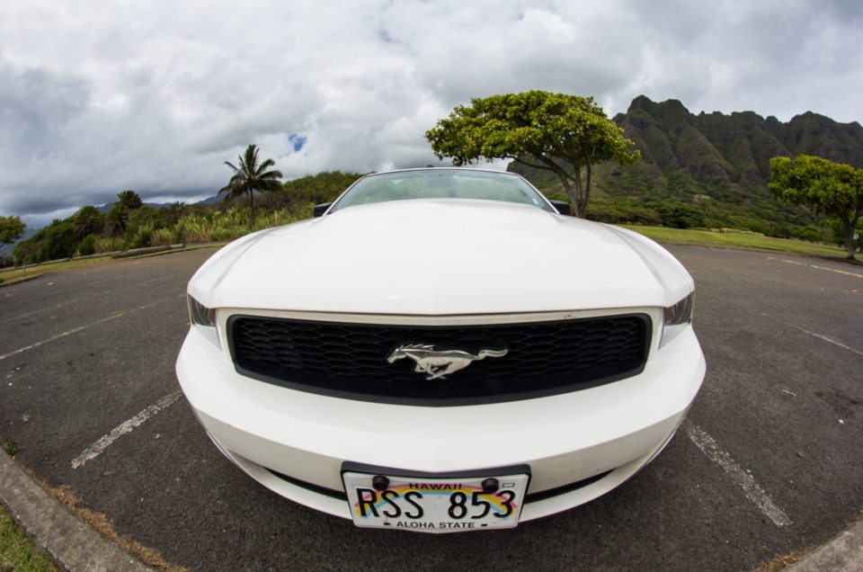 Havaj půjčení auta