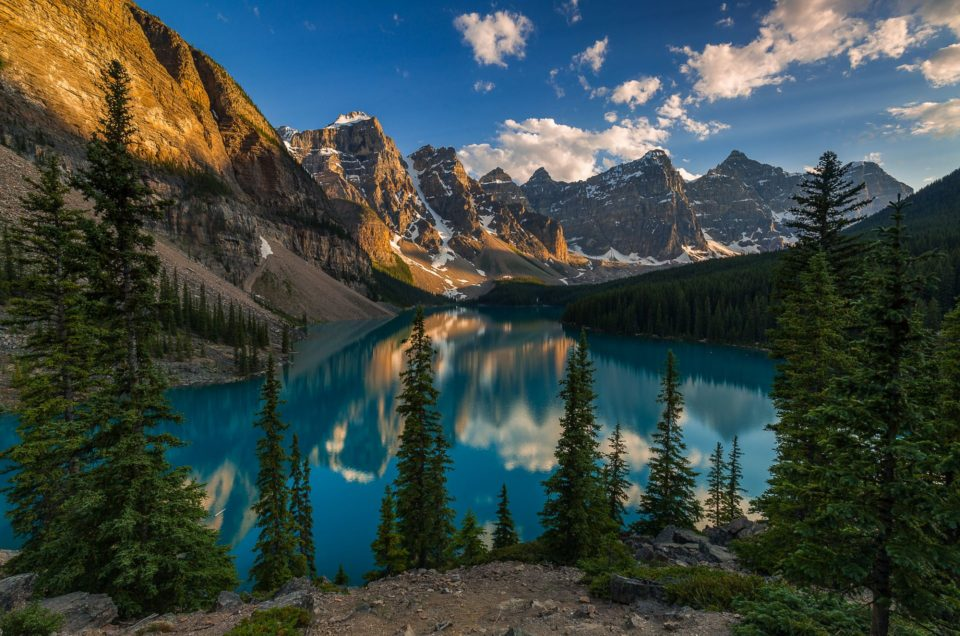 Moraine Lake a Icefields Parkway